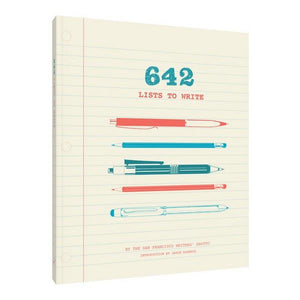 642 Lists To Write | The Gifted Type