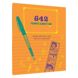 642 Things About Me: Young Writer's And Artist's Edition | The Gifted Type