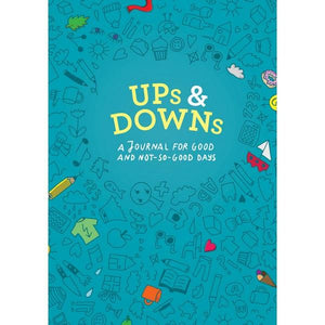 Ups & Downs: A Journal For Good And Not-So-Good Days | Guided Journal | The Gifted Type