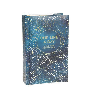 One Line a Day Celestial - 5 Year Memory Book