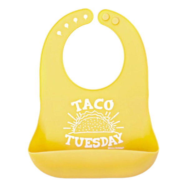 Bella Tunno Wonder Bib Taco Tuesday | The Gifted Type