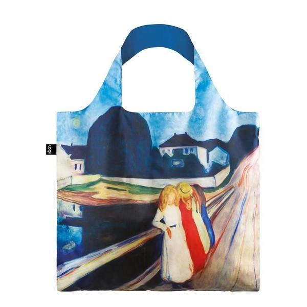 Loqi Tote Bag Four Girls On The Bridge | The Gifted Type