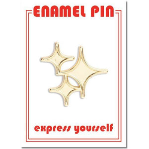 The Found Enamel Pin Sparkle Stars | The Gifted Type