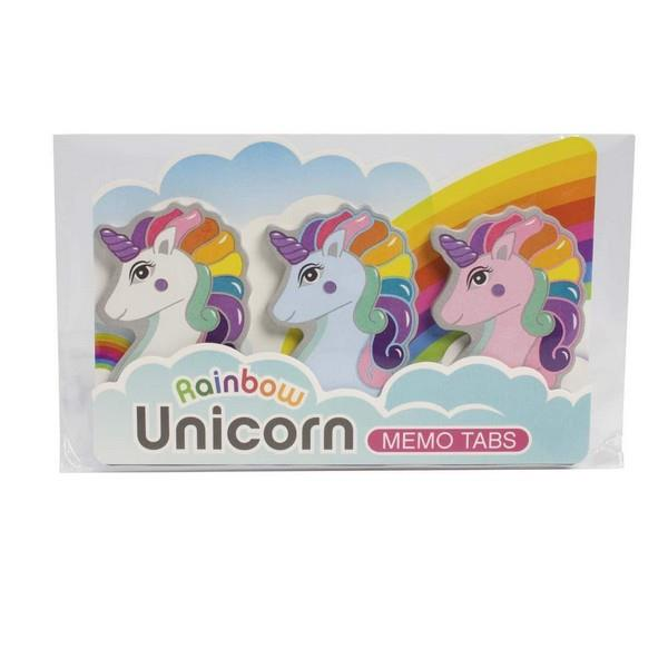 Rainbow Unicorn Memo Tabs