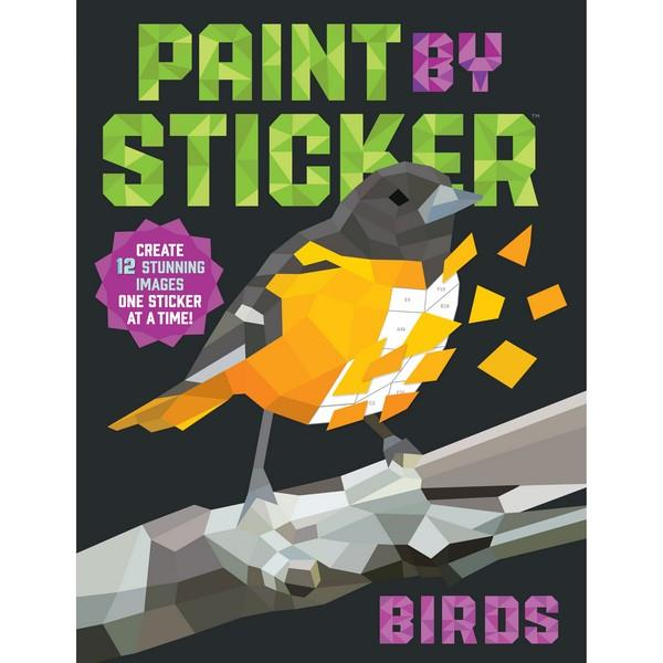 Paint By Sticker Birds | Creative And DIY Books | The Gifted Type