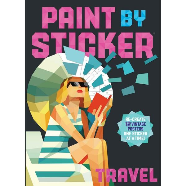 Paint By Sticker Travel | Creative And DIY Books | The Gifted Type
