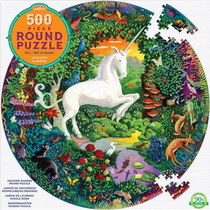 Eeboo Puzzle Unicorn Garden | 500 Pieces | The Gifted Type