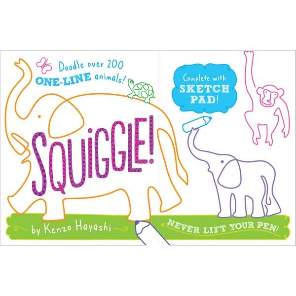 Squiggle! | Kids Activity Books | The Gifted Type