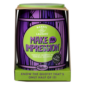 Ridley's Make An Impression Party Game | The Gifted Type