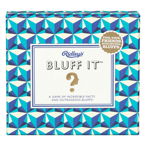 Ridley's Bluff It Party Game | The Gifted Type
