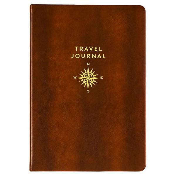 Brown With Gold Compass | Journal | The Gifted Type
