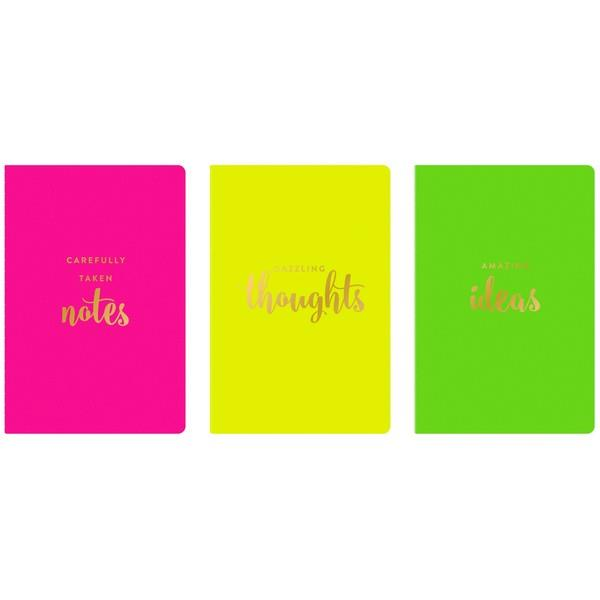 Neon | Notebook Set | The Gifted Type
