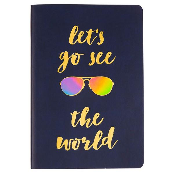 Let's Go See The World | Journal | The Gifted Type