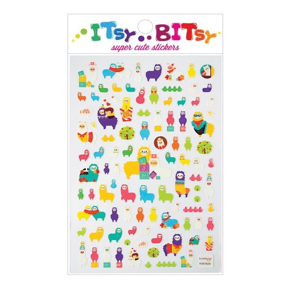 Itsy Bitsy Stickers Alpaca Pals | The Gifted Type