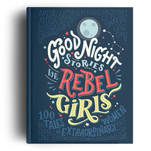 Goodnight Stories For Rebel Girls Vol. 1 | Feminist Books | The Gifted Type
