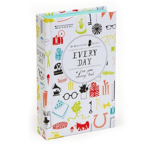 Every Day: A Five-Year Memory Book | Guided Journal | The Gifted Type
