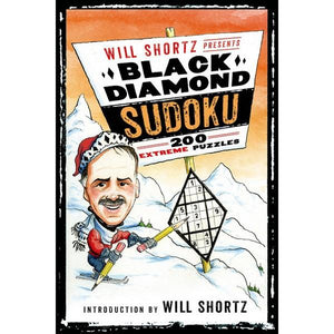 Will Shortz Presents Black Diamond Sudoku | Sudoku | The Gifted Type