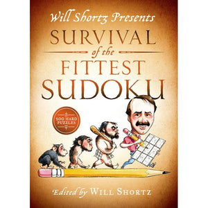 Will Shortz Presents Survival Of The Fittest Sudoku | Sudoku | The Gifted Type
