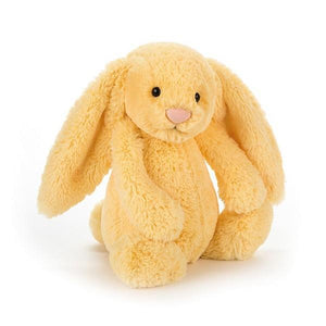 Jellycat Medium Bashful Bunny Lemon Plush | The Gifted Type