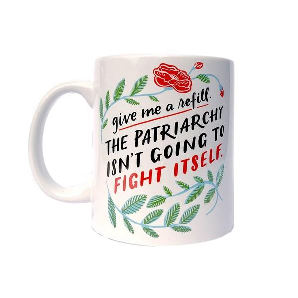 Emily McDowell Mug Patriarchy Refill | The Gifted Type