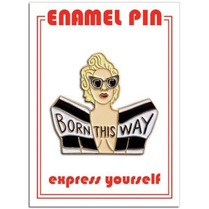 The Found Enamel Pin Gaga Born This Way | The Gifted Type