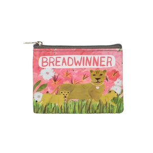 Blue Q Coin Purse Breadwinner | The Gifted Type