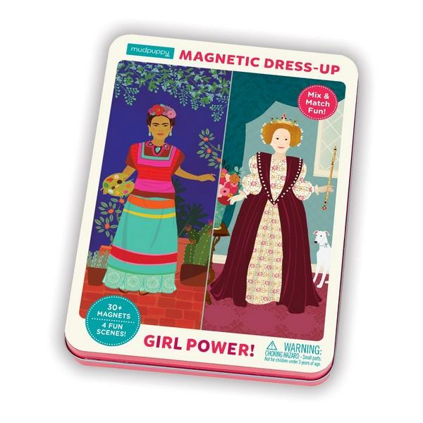Magnetic Play Set Girl Power | Package | The Gifted Type