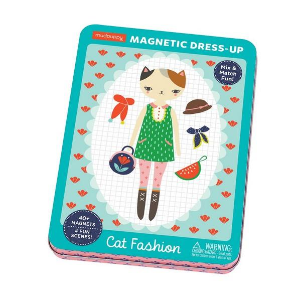 Magnetic Play Set Cat Fashion | Package | The Gifted Type