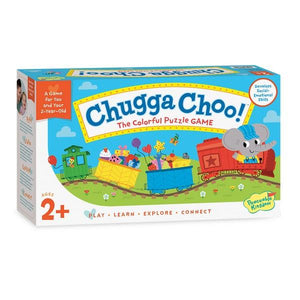 Peaceable Kingdom Chugga Choo! | Family Game | The Gifted Type