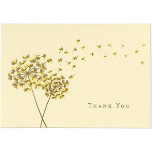 Dandelion Wishes Thank You Notecards