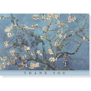 Almond Blossom Thank You Notecards