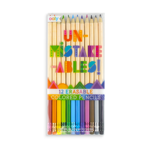Unmistakeables Erasable Coloured Pencils