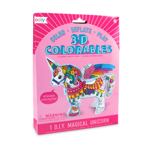 3D Colorable: Magical Unicorn | The GIfted Type