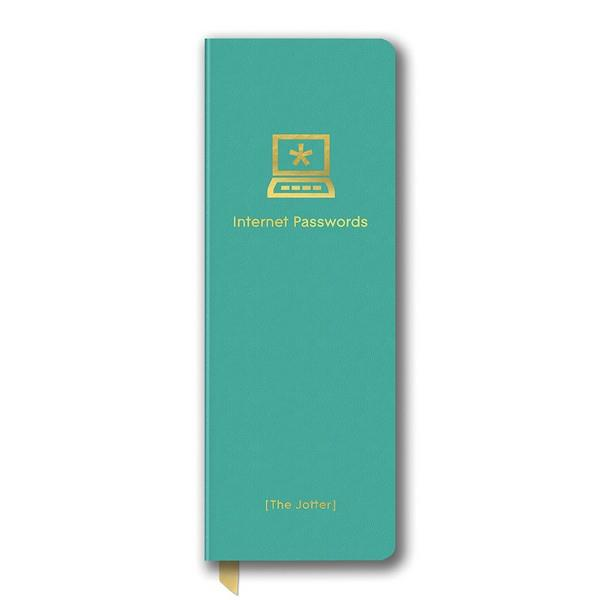 Password Logbook Turquoise | The Gifted Type