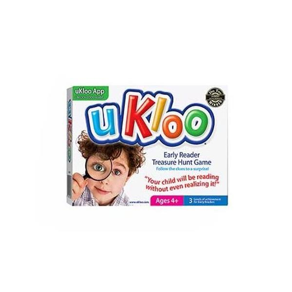 uKloo Early Reader Treasure Hunt Game | Family Game | The Gifted Type