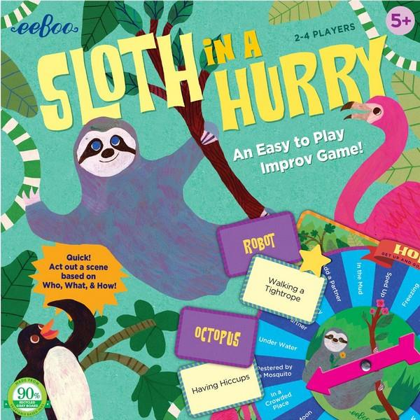 Sloth In A Hurry | Kids Game | The Gifted Type