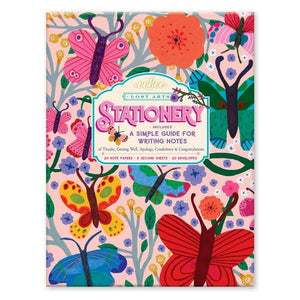 Stationery Kit Butterflies | The Gifted Type