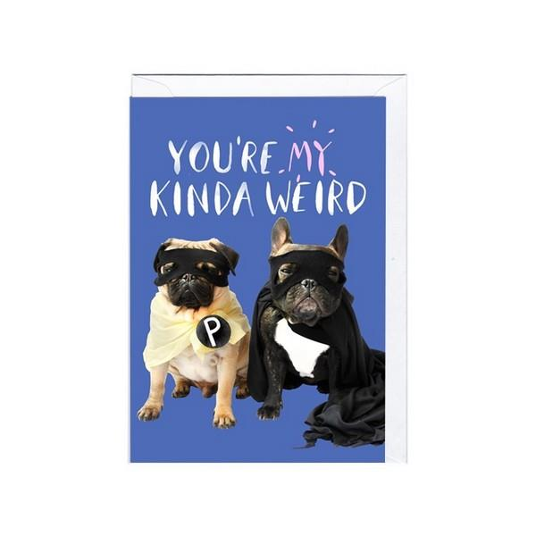 Jolly Awesome My Kind Of Weird | Humour Card | The Gifted Type