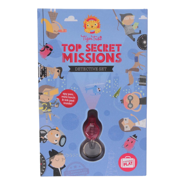 Top Secret Missions Activity Kit