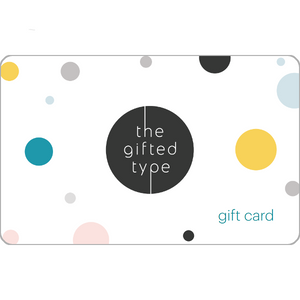 Gift Card | The Gifted Type