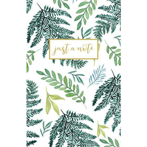 Ferns Blank Notecards | The Gifted Type
