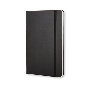 Moleskine Classic Large Hardcover Notebook | Black | The Gifted Type