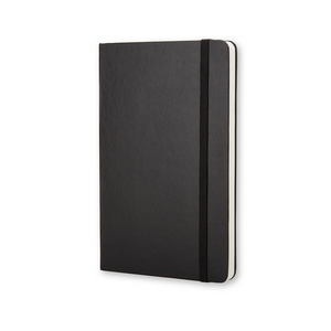 Moleskine Classic Pocket Hardcover Notebook | Black | The Gifted Type