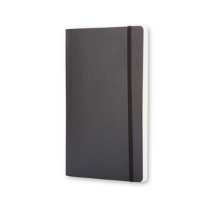 Moleskine Classic Large Softcover Notebook | Black | The Gifted Type