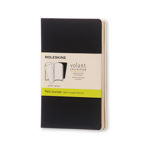 Moleskine Pocket Volant Set Of 2 | Black | The Gifted Type