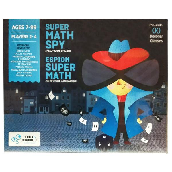 Super Math Spy Game | The Gifted Type