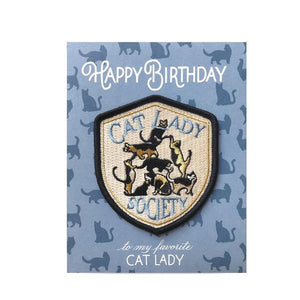 Cat Lady | Birthday Card | The Gifted Type