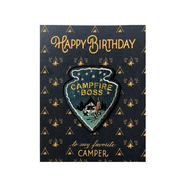 Campfire Boss | Birthday Card | The Gifted Type