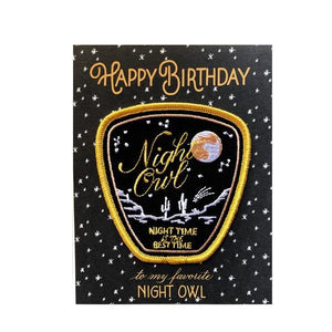 Night Owl | Birthday Card | The Gifted Type