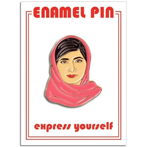 The Found Enamel Pin Malala | The Gifted Type